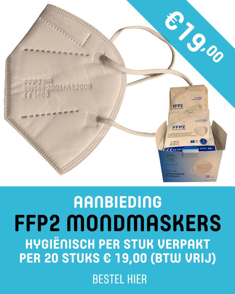 Aanbieding FFP2 mondmaskers